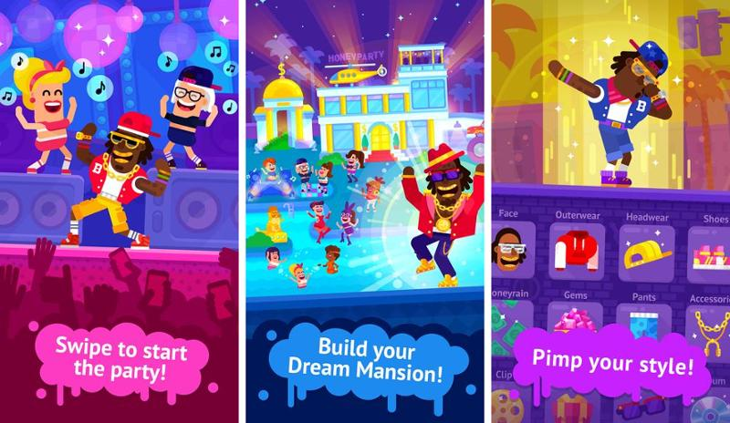 Иллюстрация на тему Party Masters - Fun Idle Game: скачать игру на Андроид