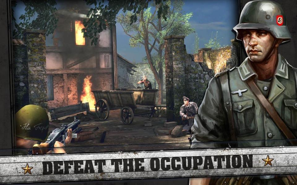 Иллюстрация на тему Frontline Commando: Normandy - скачать полную версию игры на Андроид