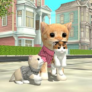 Иконка Скачать игру Симулятор Кошки Онлайн на Android
