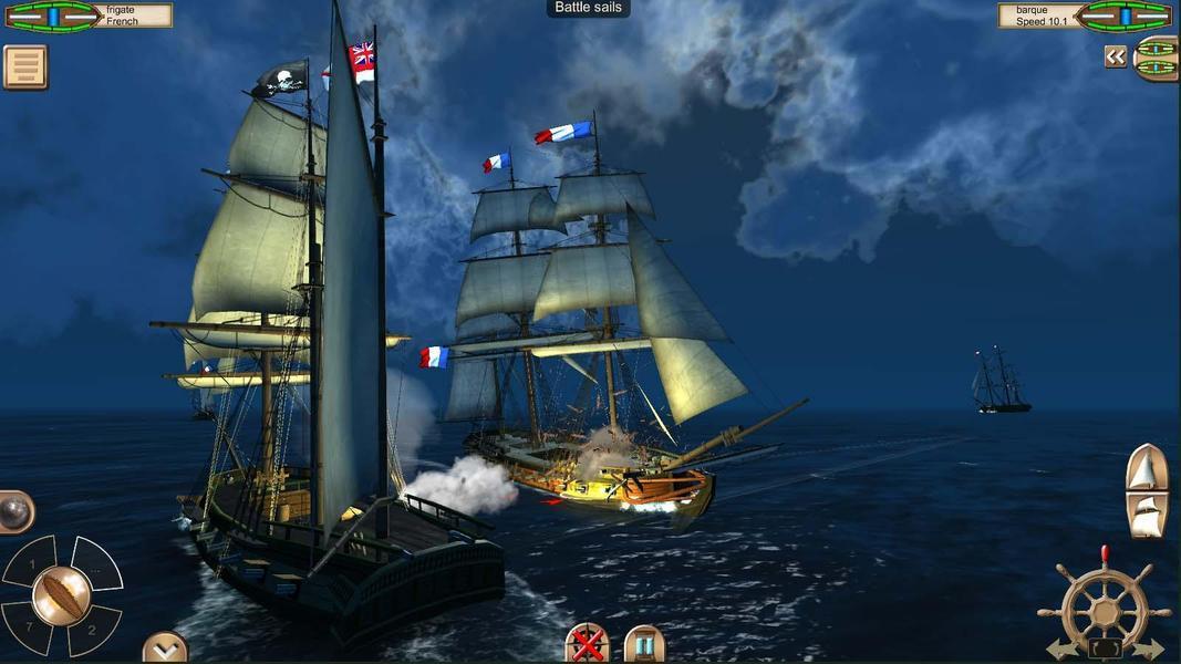 Иллюстрация на тему The Pirate: Caribbean Hunt - скачать полную версию игры на Андроид