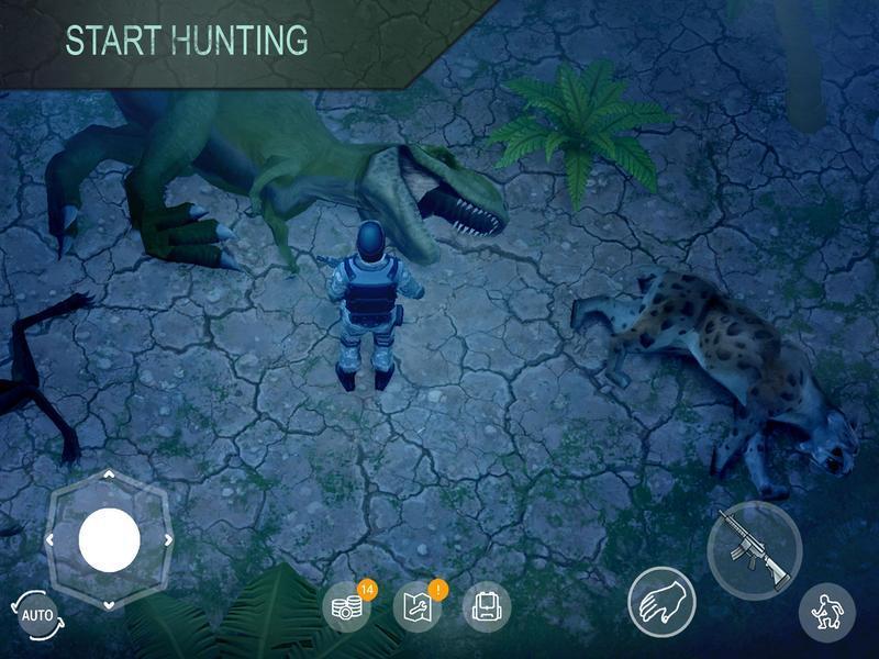 Иллюстрация на тему Jurassic Survival: скачать полную версию игры на Андроид