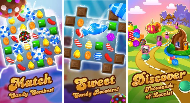 Иллюстрация на тему Candy Crush Saga: скачать полную версию игры на Андроид