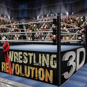 Иконка Скачать полную версию игры Wrestling Revolution 3D