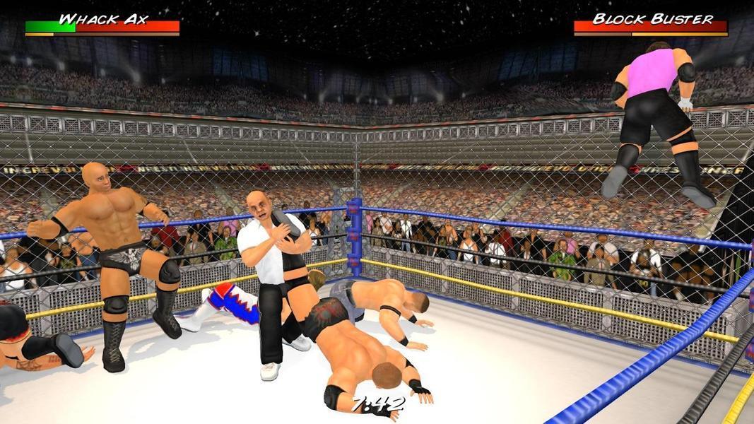 Иллюстрация на тему Wrestling Revolution 3D: скачать игру на Андроид на русском языке