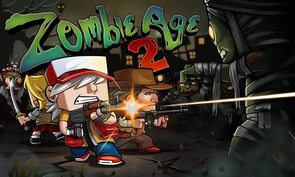 Иллюстрация на тему Zombie Age 2: скачать полную версию игры на Андроид