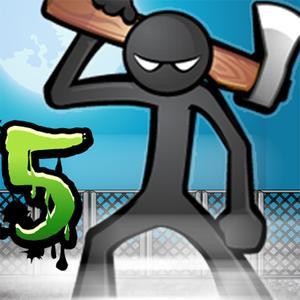 Иконка Скачать игру Anger of stick 5: Zombie на Android