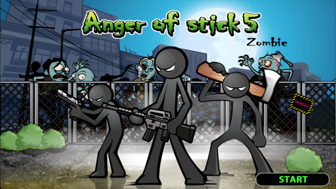 Иллюстрация на тему Anger of stick 5: Zombie - скачать на Андроид полную версию