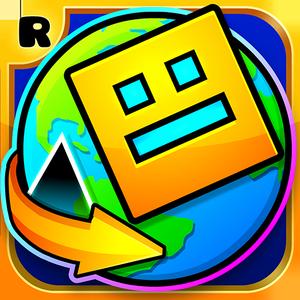 Иконка Скачать игру Geometry Dash World на Android