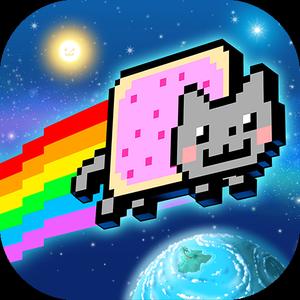 Иконка Скачать игру Nyan Cat: Lost In Space на Android
