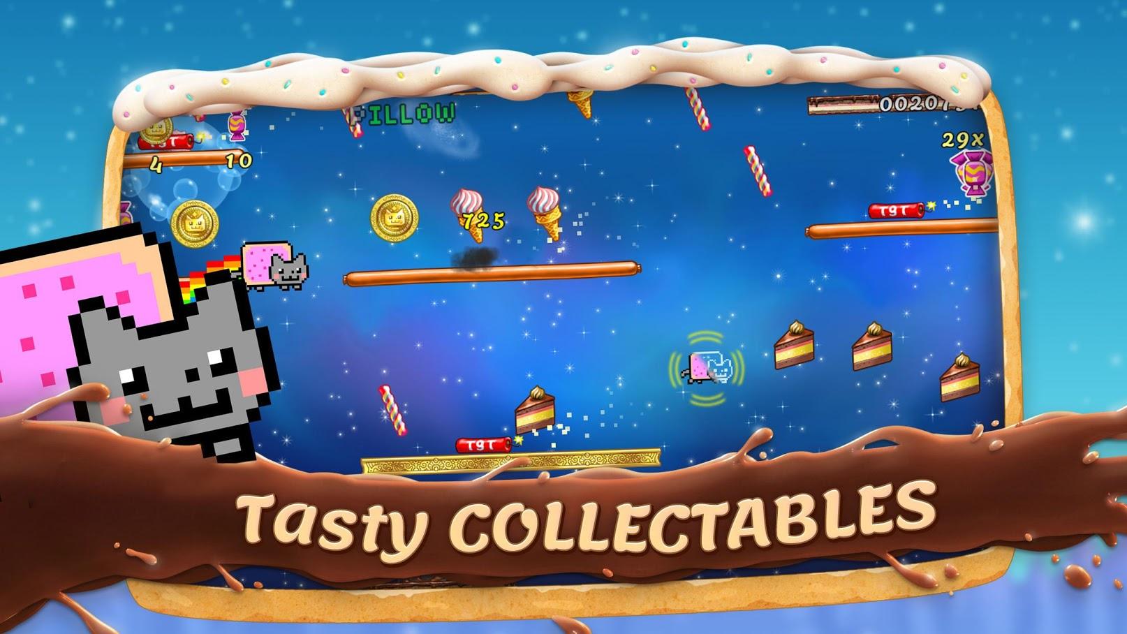 Иллюстрация на тему Скачать Nyan Cat: Lost In Space на Андроид полную версию