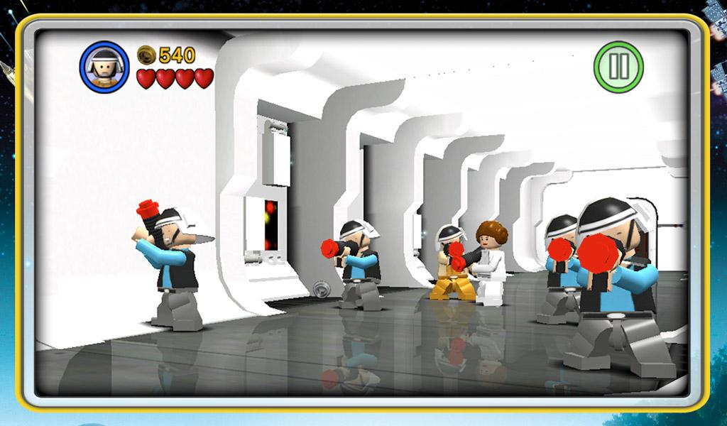 Иллюстрация на тему Скачать LEGO Star Wars: TCS на Андроид полную версию