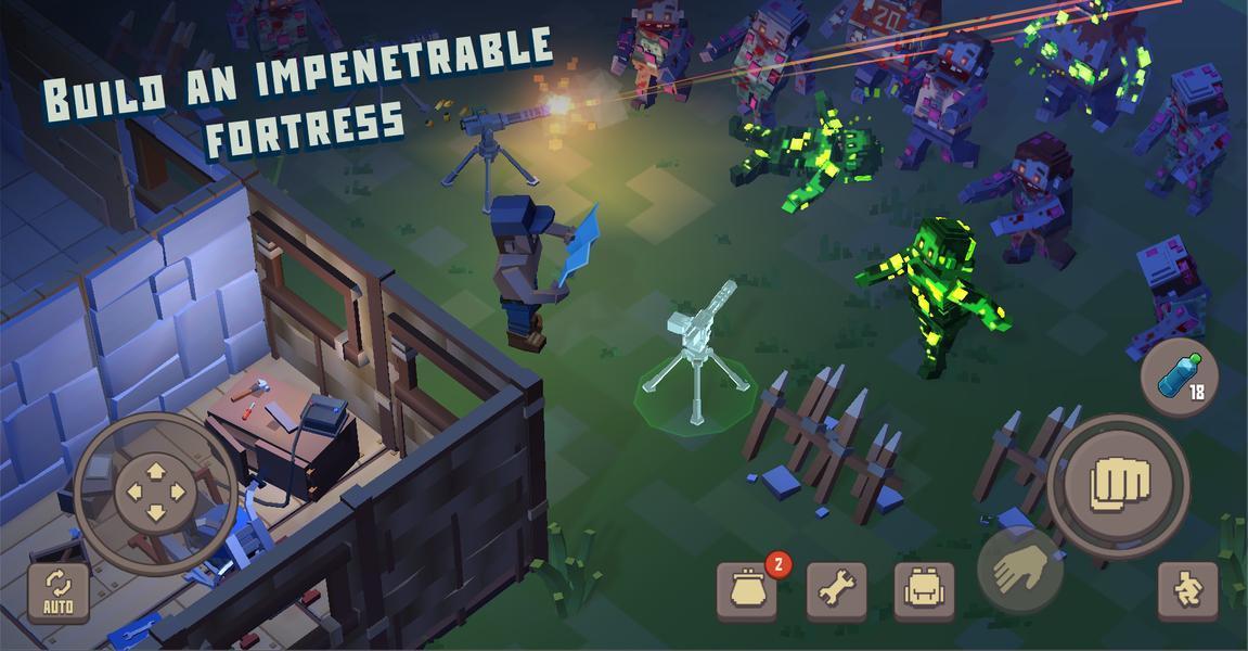 Иллюстрация на тему Cube Survival Story: скачать полную версию игры на Андроид