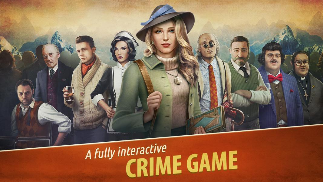 Иллюстрация на тему Убийство в Альпах: скачать полную версию игры на Андроид