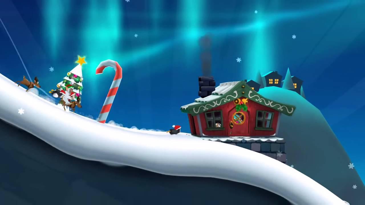 Иллюстрация на тему Ski Safari 2: скачать полную версию игры на Андроид