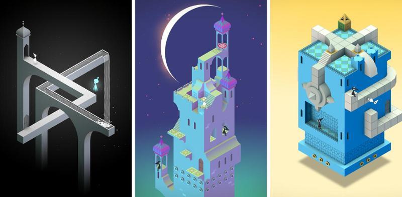 Иллюстрация на тему Monument Valley: скачать полную версию игры на Андроид