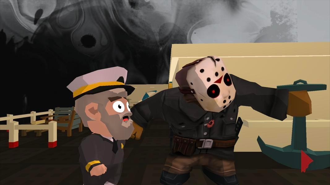 Иллюстрация на тему Friday the 13th Killer Puzzle: скачать игру на Андроид