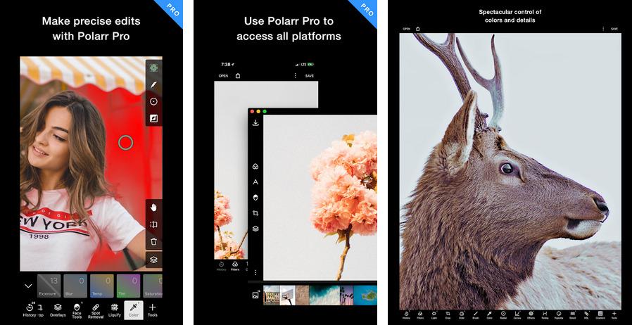 Иллюстрация на тему Скачать Polarr - Photo Editor: скачать приложение на Андроид