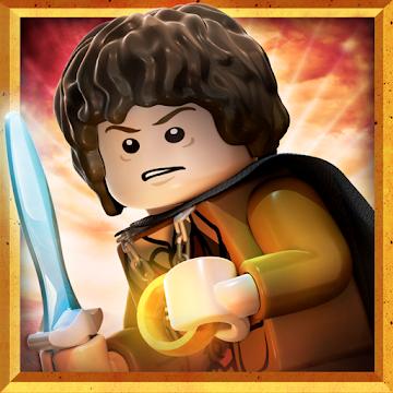 Иконка Скачат ьигру LEGO: Властелин Колец на Android