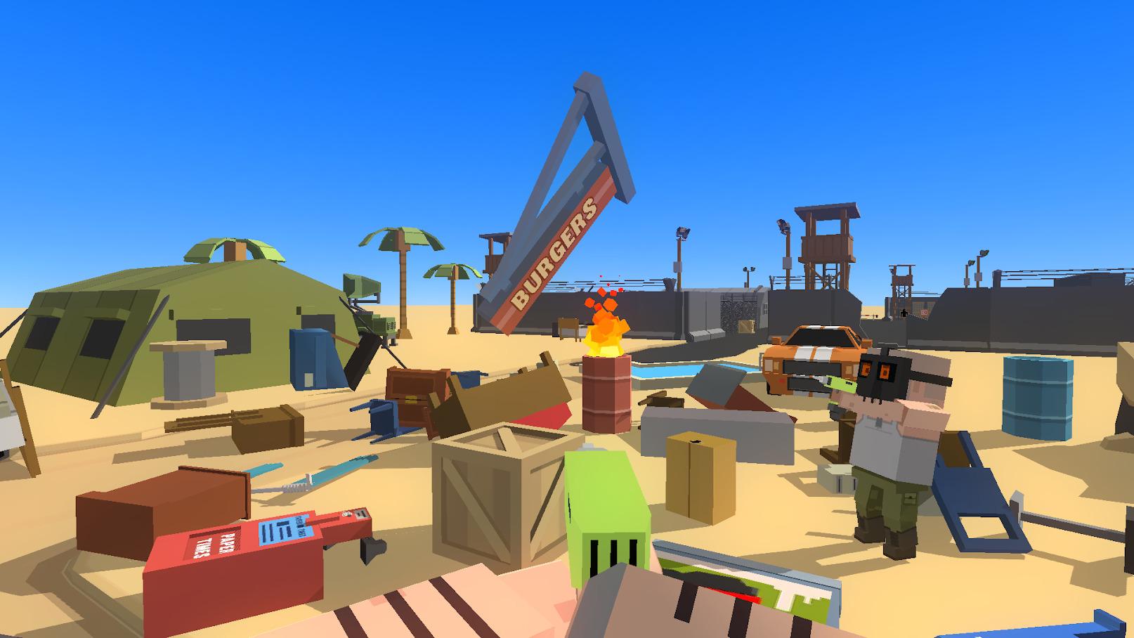 Иллюстрация на тему Simple Sandbox: скачать полную версию игры на Андроид