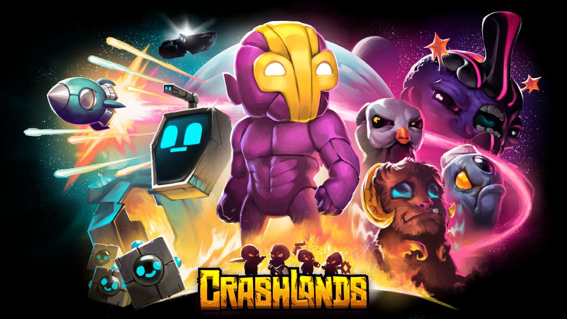 Иллюстрация на тему Скачать Crashlands на Андроид на русском: полная версия игры
