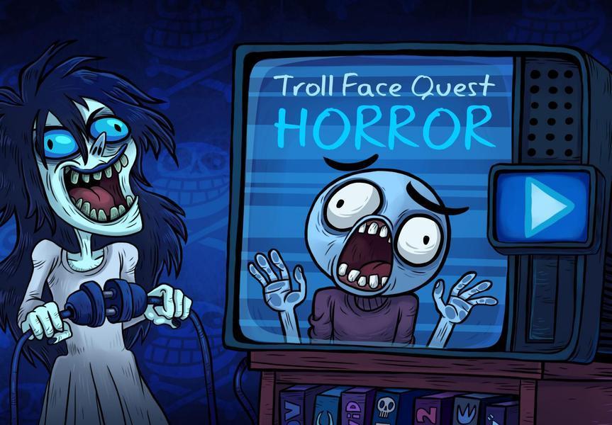 Иллюстрация на тему Скачать Troll Face Quest: Horror на Андроид - полная версия игры