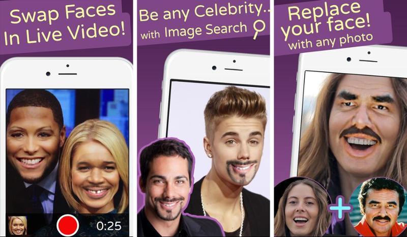 Иллюстрация на тему Face Swap Live: скачать полную версию приложения на Андроид