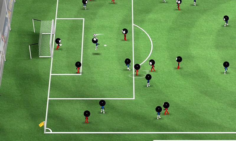 Иллюстрация на тему Скачать Stickman Soccer 2016 на Андроид: полная версия игры