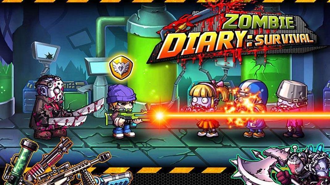 Иллюстрация на тему Zombie Diary: скачать полную версию игры на Андроид