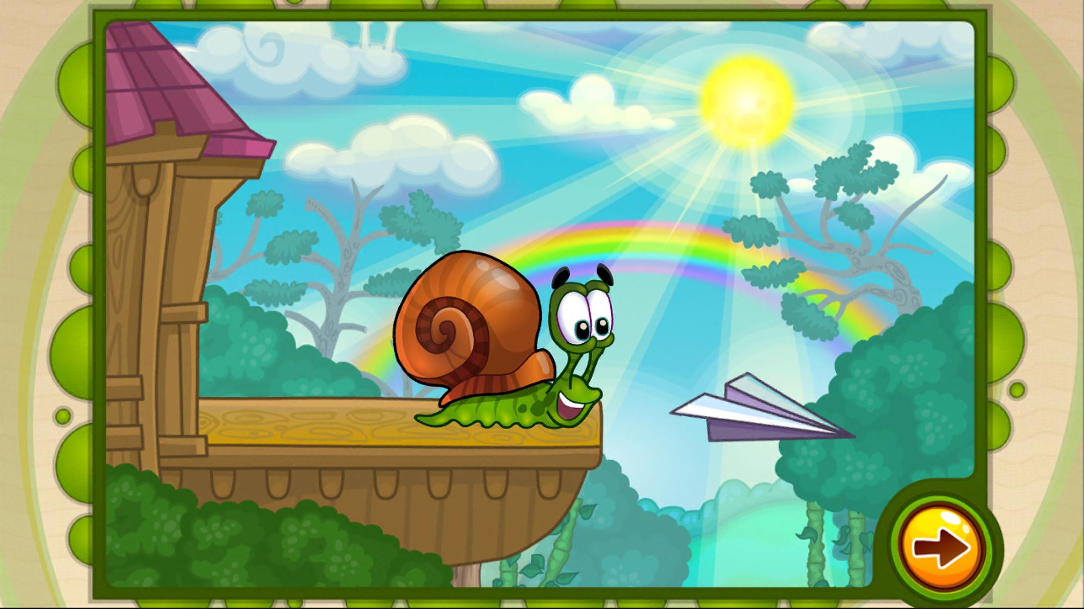 Иллюстрация на тему Скачать Улитка Боб 2 на Андроид: полная версия игры